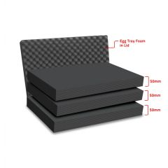 Peli 1550MLF Replacement Multilayer Foam Set
