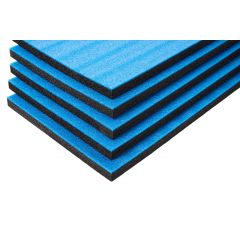 Multilayer Foam With Blue Top 800x450x30 mm