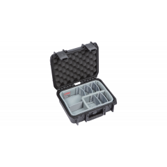 SKB iSeries 1209-4 Case with Think Tank Designed Dividers (305 x 229 x 114 mm)