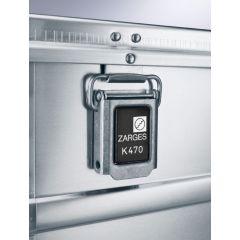 Zarges K470 40846 Alumiinilaatikko (900x640x450mm)